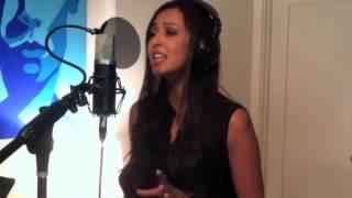 Cassie Hernandez in studio